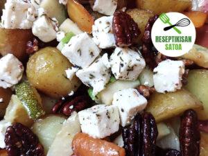 Reseptin kuva: Lämmin feta-waldorfinsalaatti