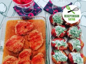 Reseptin kuva: Nokkospesto-silavaperunat ja possupihvit kasvisten kera