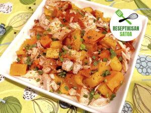 Reseptin kuva: Lämmin ruskasalaatti